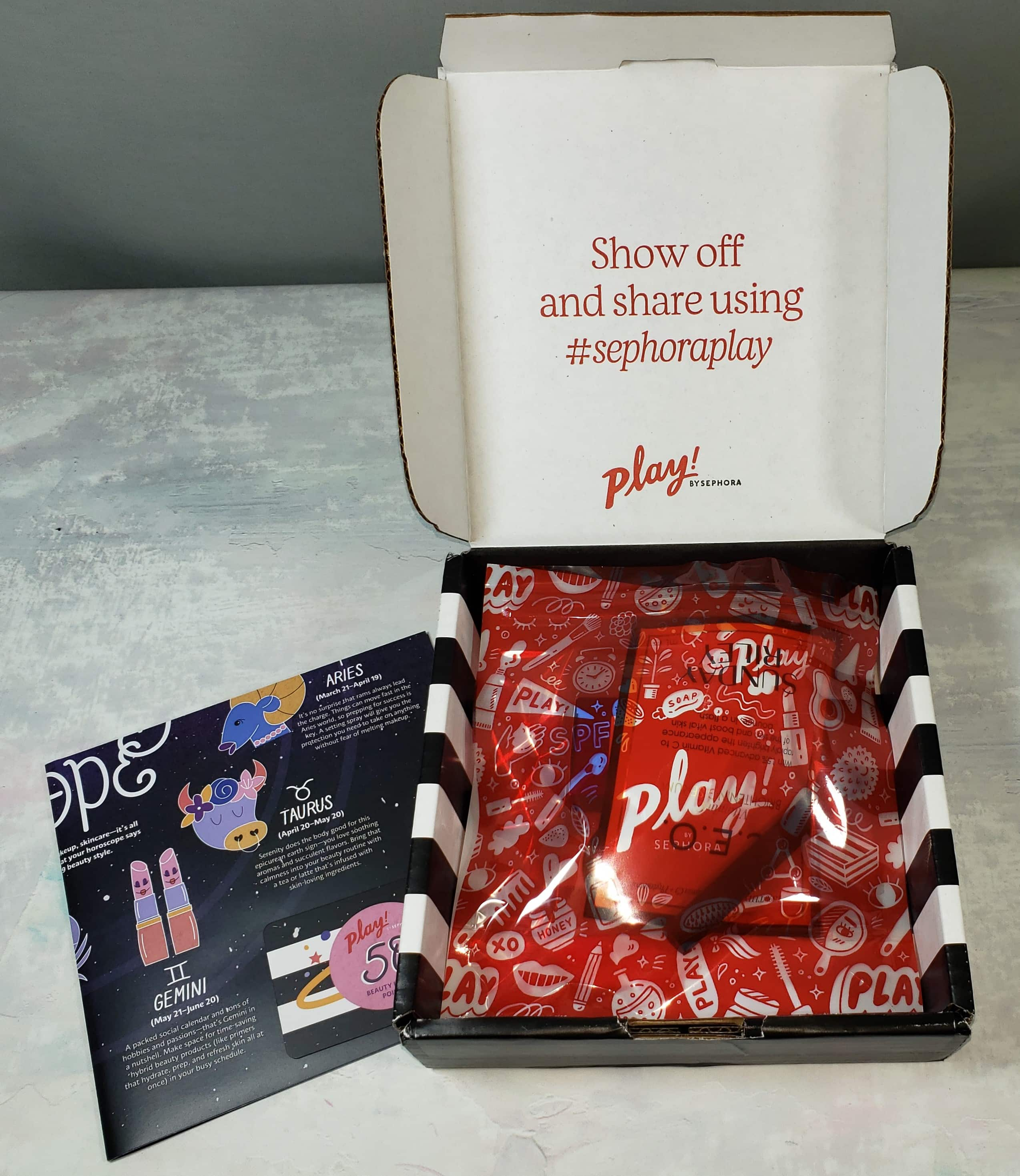 PLAY! by Sephora Subscription Box Review – January 2019