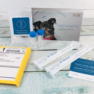 NomNomNow Cat Microbiome Testing Kit Review!