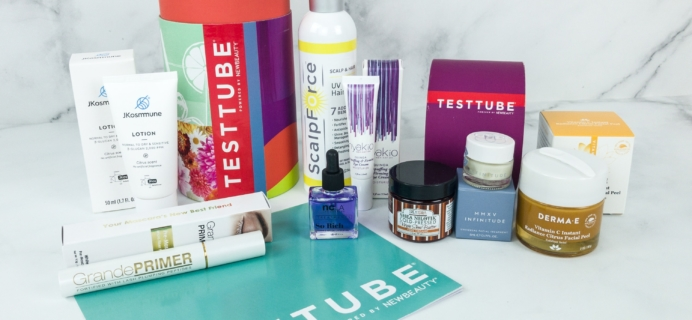 New Beauty Test Tube May-June 2019 Subscription Box Review