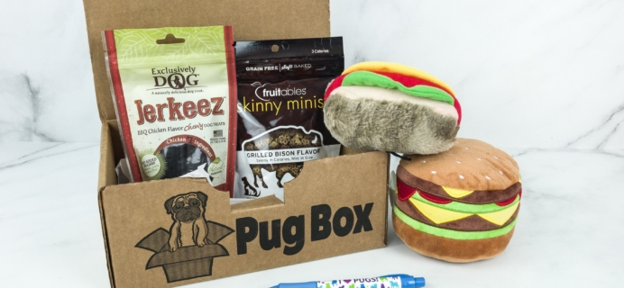 Pug Box April 2019 Subscription Box Review + Coupon!