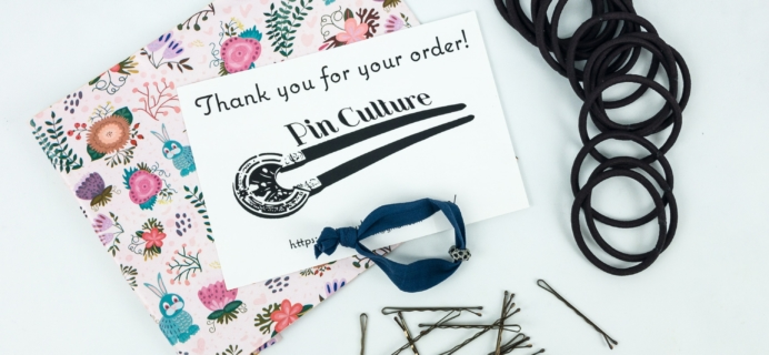 Pin Culture Subscription Box Review + Coupon – Bobby Pins and Hair Ties