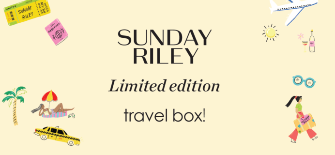 Sunday Riley Box Summer 2019 FULL Spoilers!