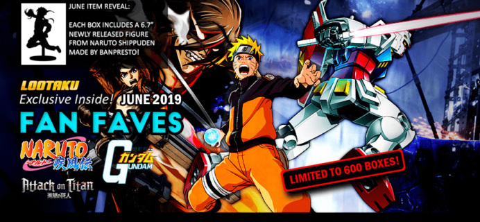 Lootaku June 2019 Theme Spoilers + Coupon!