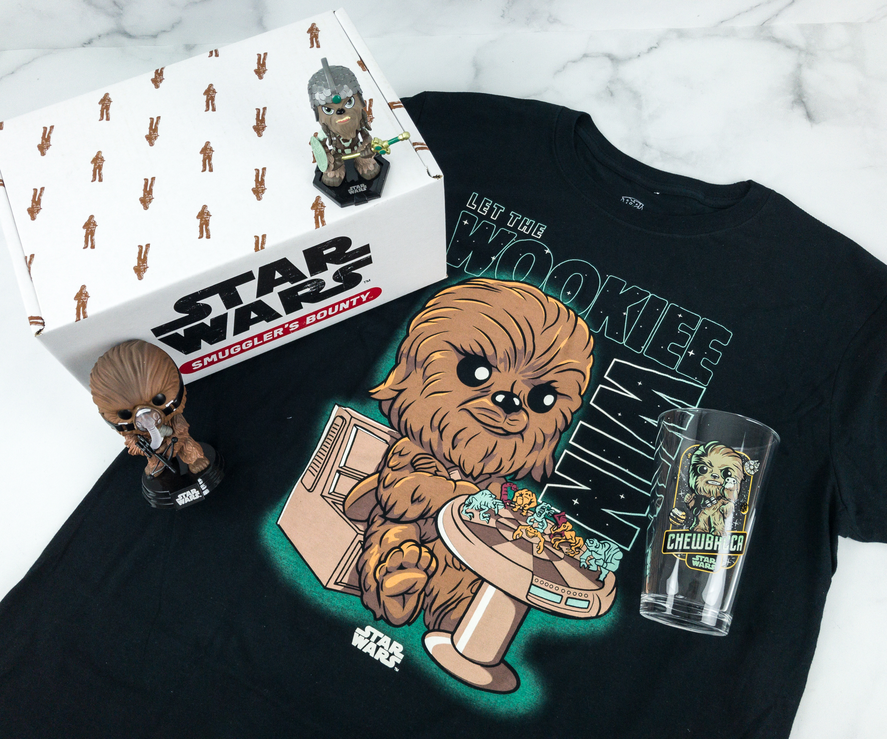 Smuggler's Bounty April 2019 Subscription Box Review – WOOKIEE Box!