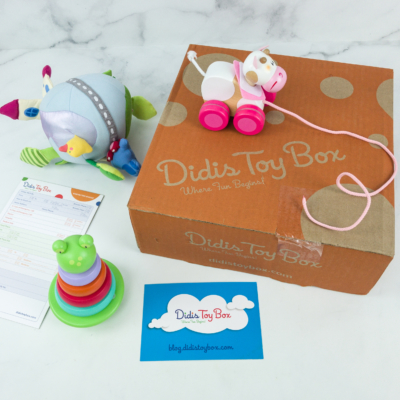 Didis Toy Box May 2019 Subscription Box Review & Coupon