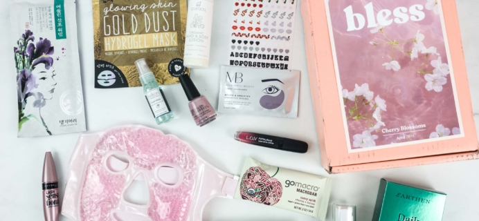 Bless Box April 2019 Subscription Box Review & Coupon
