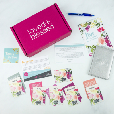 Loved+Blessed May 2019 Subscription Box Review + Coupon