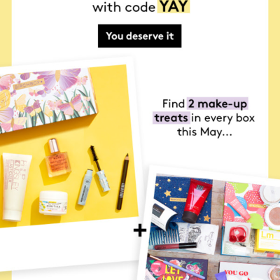 Birchbox UK Easter Sale:  Get 2 Boxes For Only £10!