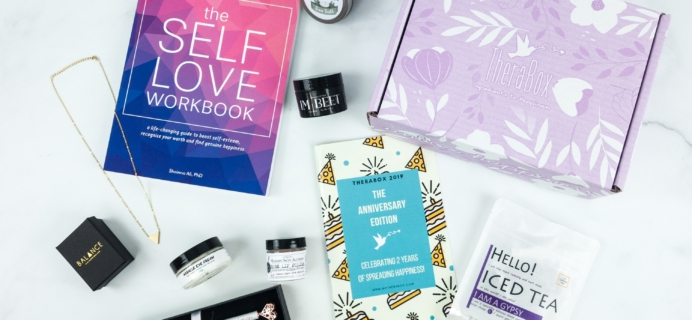 TheraBox April 2019 Subscription Box Review + Coupon