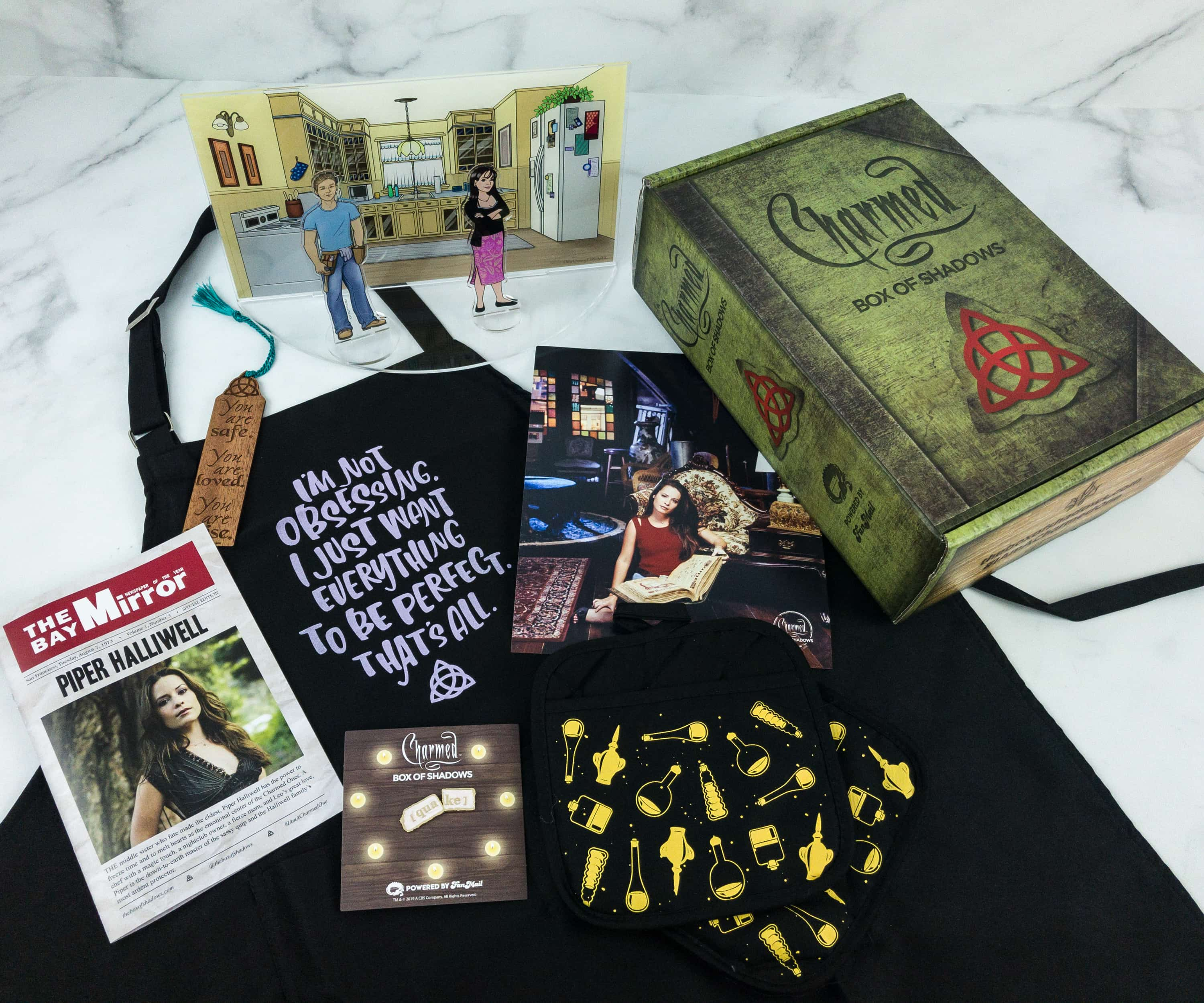 Charmed: The Box of Shadows April 2019 Subscription Box Review