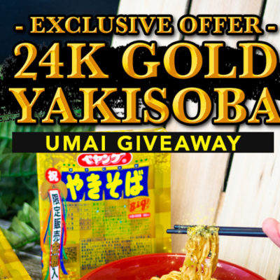 Umai Crate Coupon: Get Bonus 24K Gold Yakisoba!