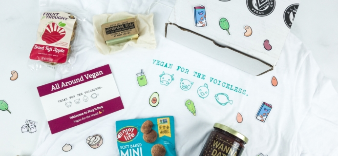 All Around Vegan Box May 2019 Subscription Box Review + Coupon