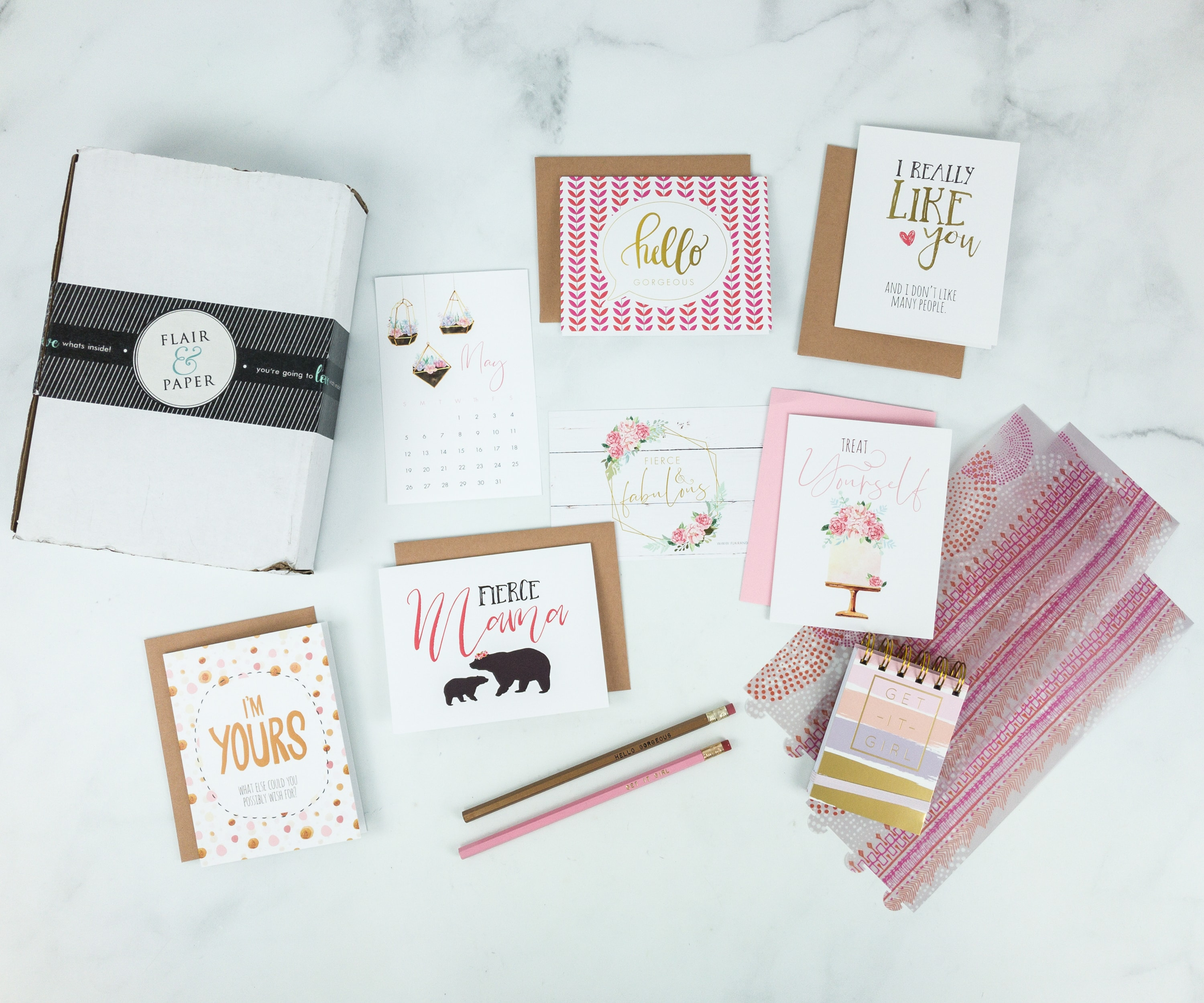 Flair and Paper May 2019 Subscription Box Review & Coupon