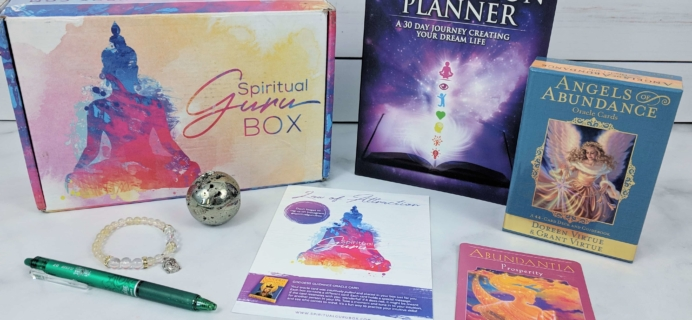Spiritual Guru April 2019 Subscription Box Review