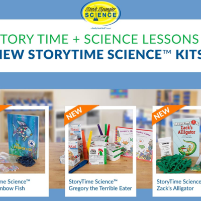 Steve Spangler Science StoryTime Science Kits Available Now + Coupon!