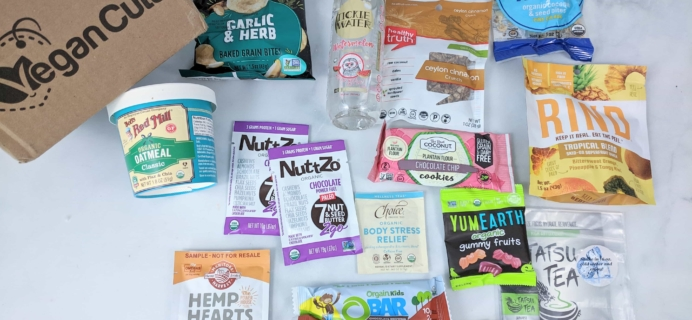 Vegan Cuts Snack Box April 2019 Subscription Box Review