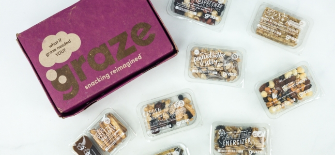 May 2019 Graze Variety Box Review & Free Box Coupon