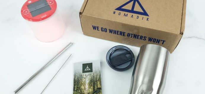 Nomadik April 2019 Subscription Box Review + Coupon