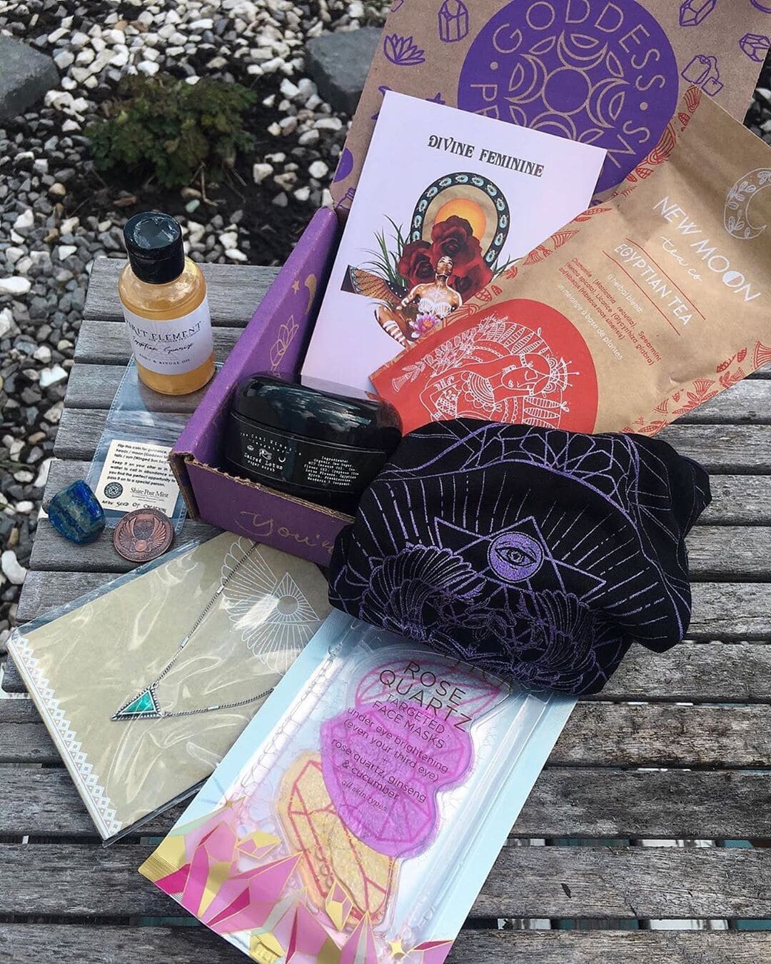 Goddess Provisions May 2019 Full Spoilers! - hello subscription