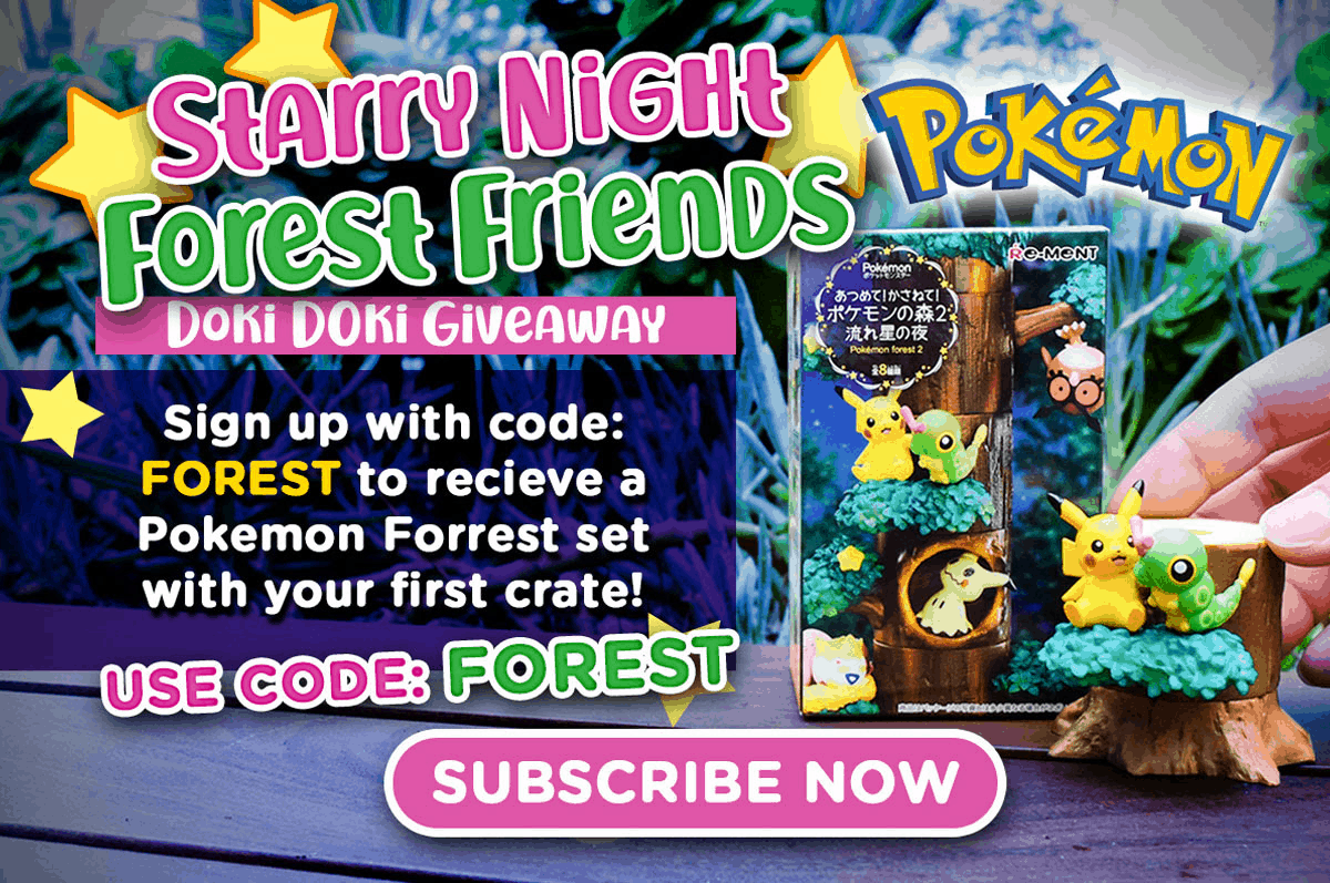 Doki Doki Coupon: Get FREE Pokemon Forest Set!