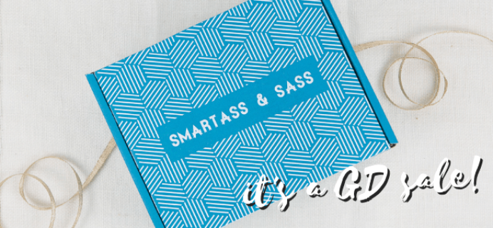 Smartass + Sass Box Flash Sale: Get 20% Off Subscriptions!
