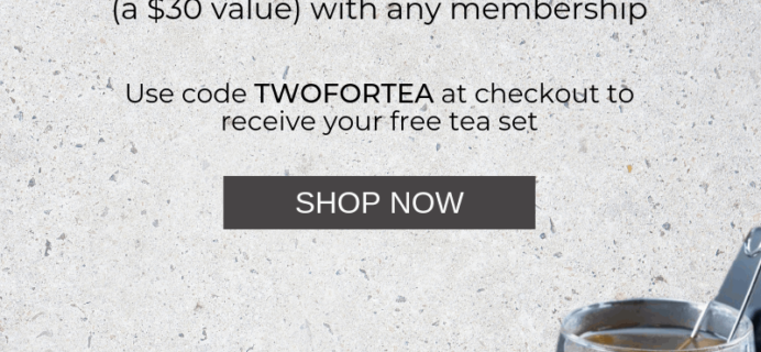 Platejoy Mother's Day Coupon: Get FREE Ceramic Mug & Tea Set!