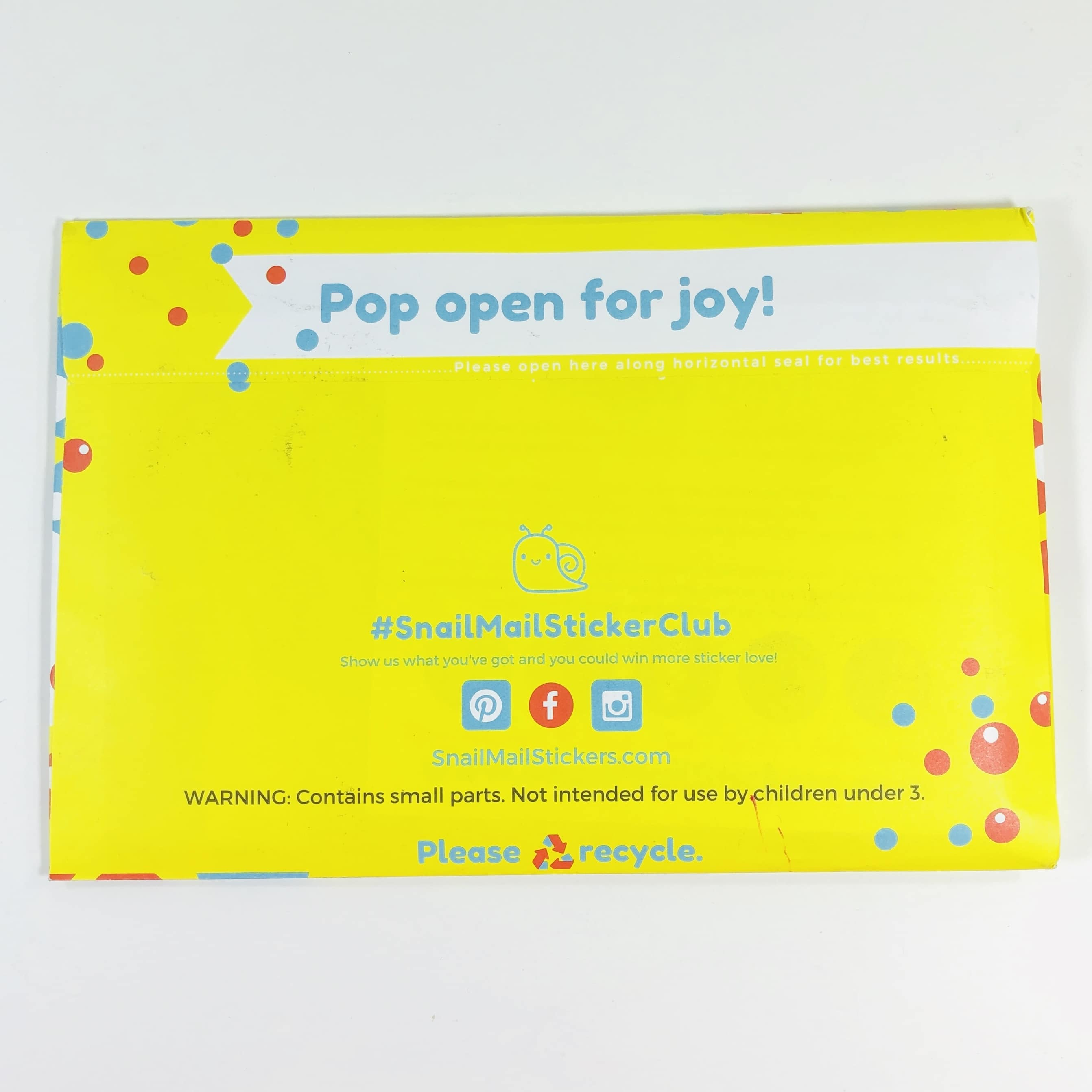 Snail Mail Sticker Club May 2019 Subscription Box Review + Coupon ...