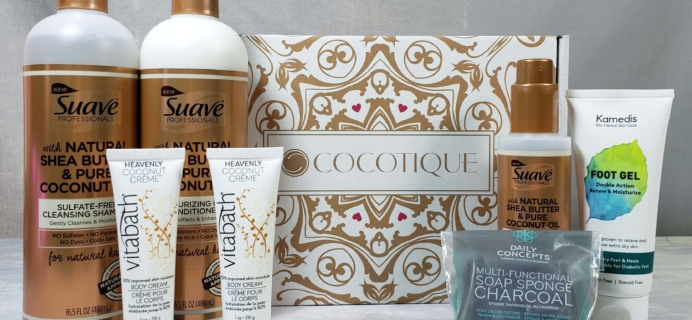 COCOTIQUE Subscription Box Review + Coupon! – March 2019
