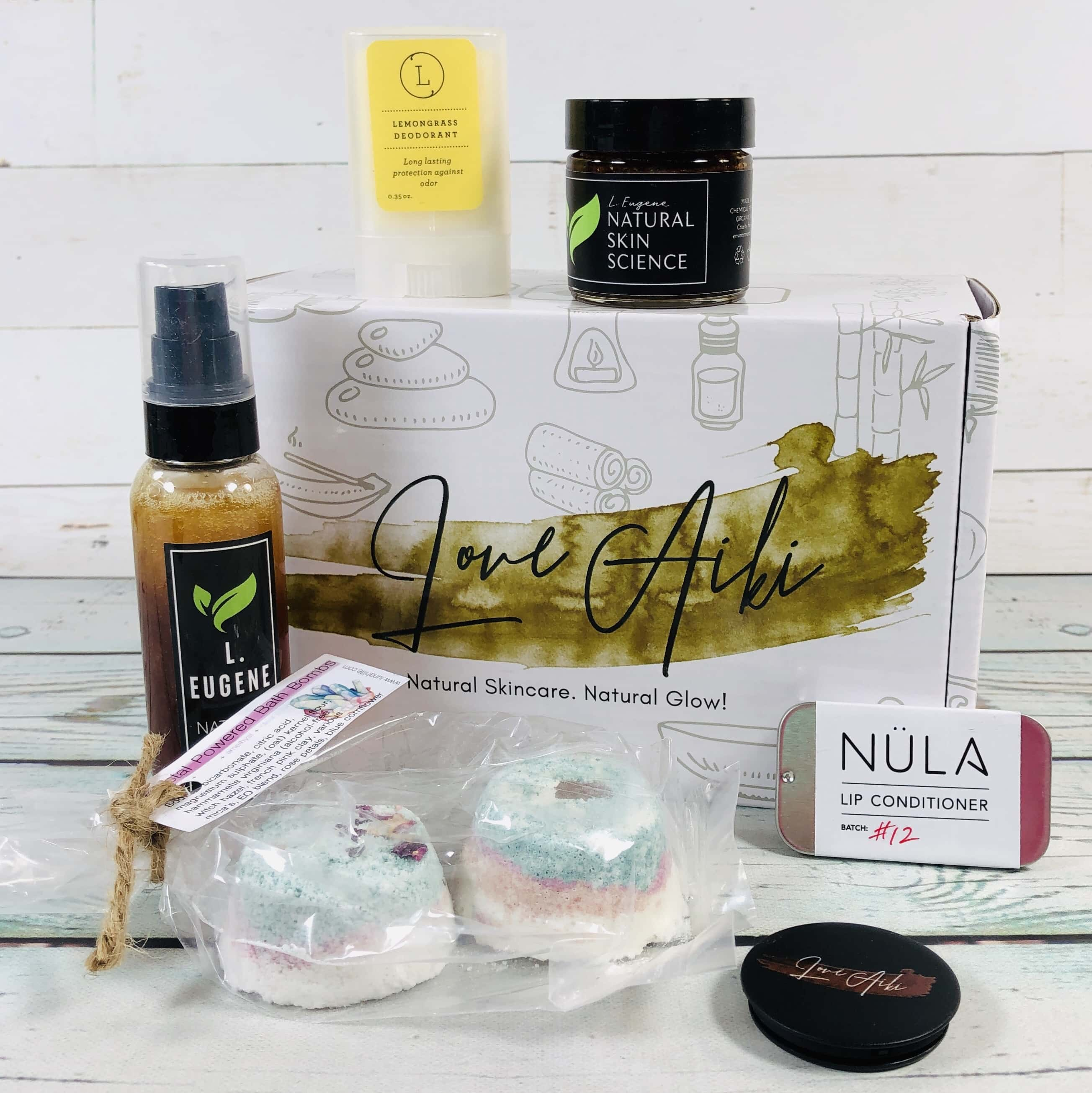 Love Aiki Box May 2019 Subscription Box Review + Coupon