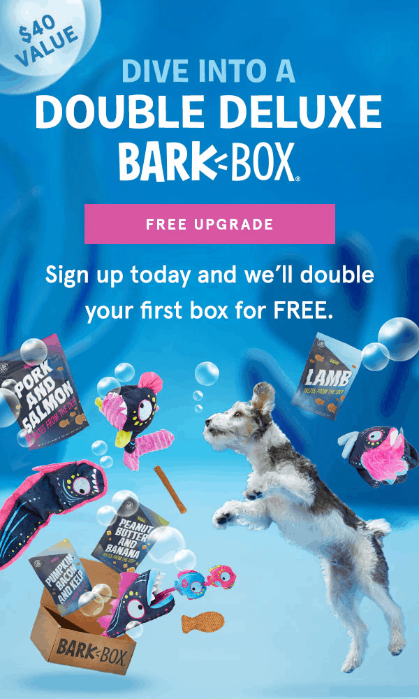 BarkBox Coupon: Double Your First Box for FREE With Any Subscription – LAST DAY!