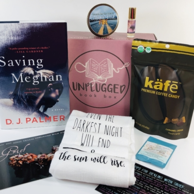 Unplugged Book Box May 2019 Adult Fiction Subscription Box Review + Coupon!