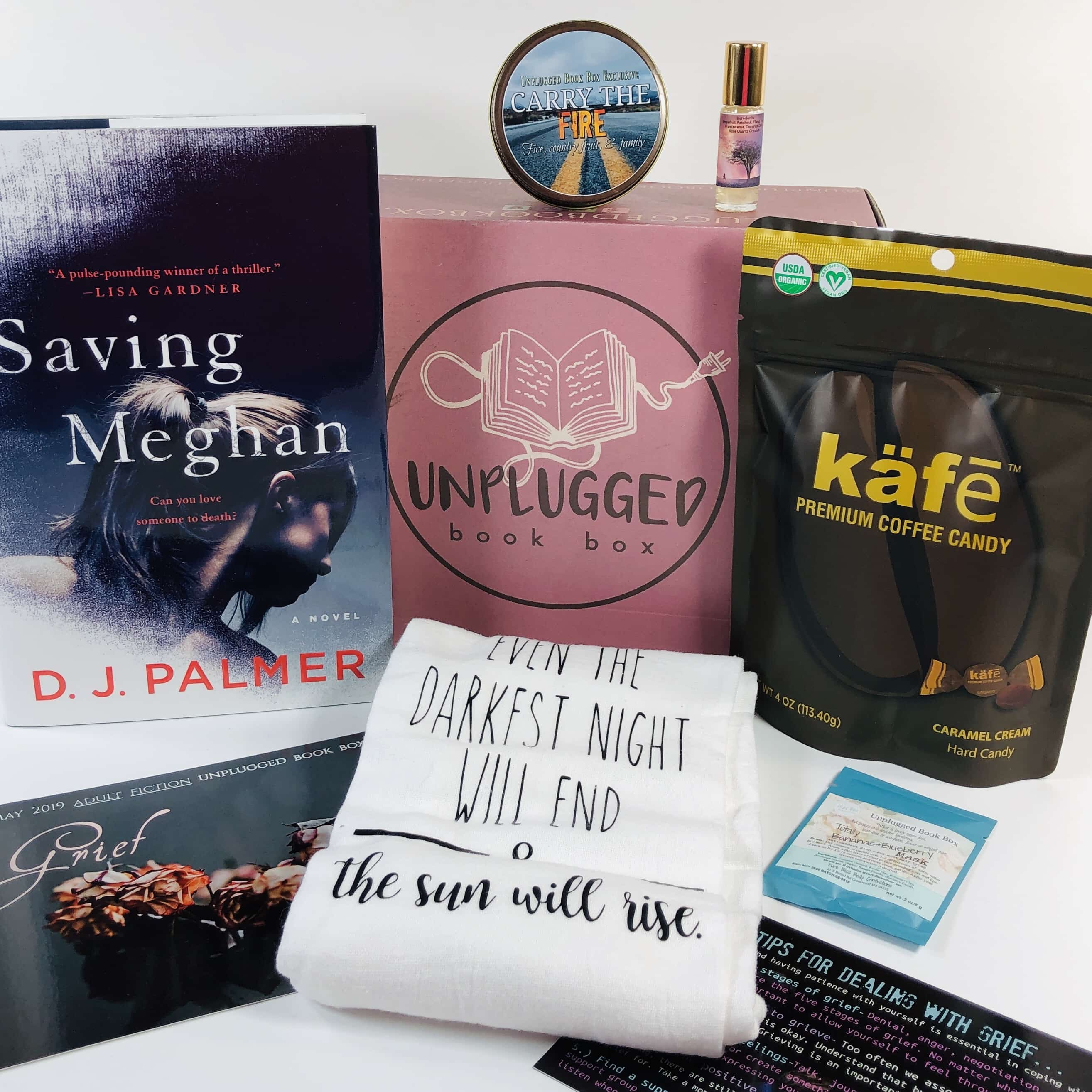 Unplugged Book Box May 2019 Adult Fiction Subscription Box Review