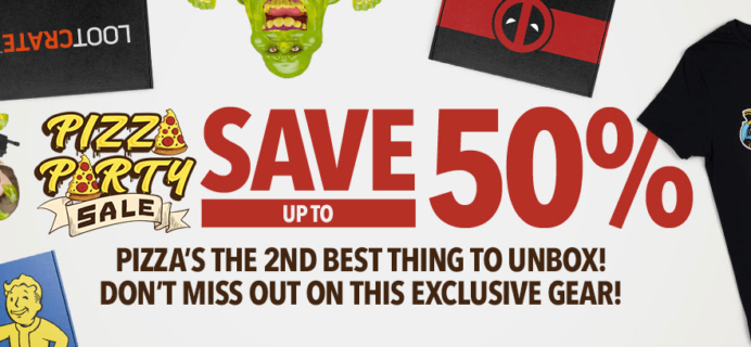 Loot Crate Sale: Get Up To 50% Off on Select Crates!