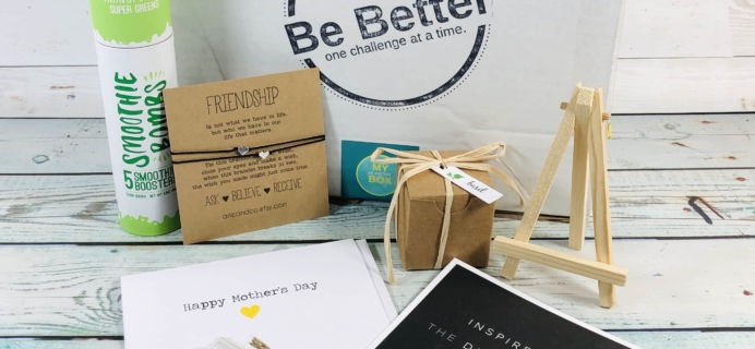 My Be Better Box May-June 2019 Subscription Box Review
