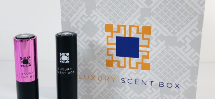 Luxury Scent Box Subscription Box Review + Coupon – May 2019