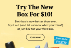 Birchbox Coupon Code: Get Your First Box For Just $10!