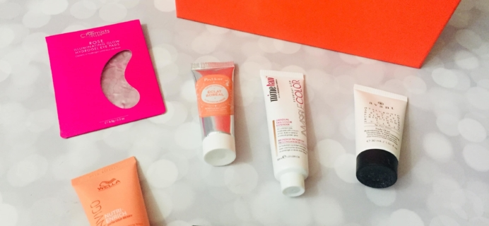 lookfantastic Beauty Box May 2019 Subscription Box Review