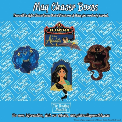 Pin Trading Monthly May 2019 Chase Spoiler!