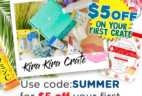 Kira Kira Crate Summer Sale: Get $5 Off Your First Crate!