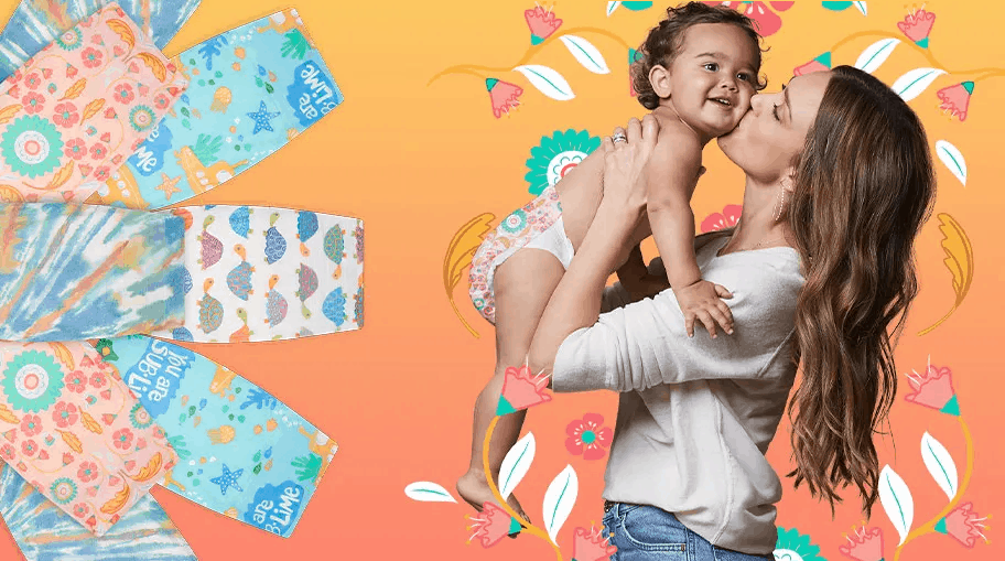 Honest Company Diaper Bundle Coupon: $30 Off First Bundle + Summer Prints!
