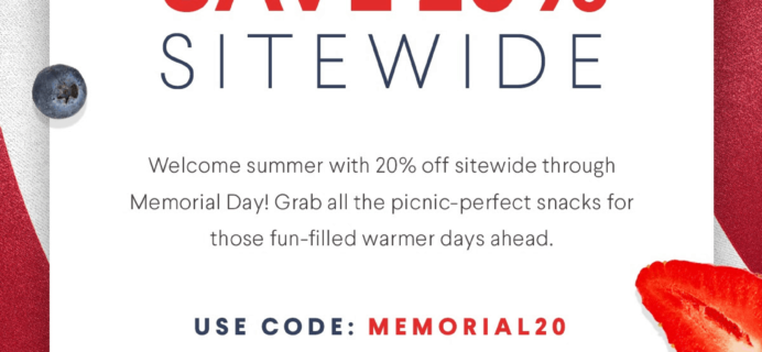 Naturebox Memorial Day Sale: Save 20% Off Sitewide!
