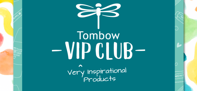 Tombow VIP Club September 2019 Box Available Now + Full Spoilers!