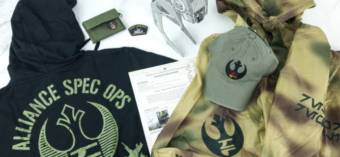 Loot Crate Star Wars Endor Rebel Limited Edition Crate Review + Coupon!