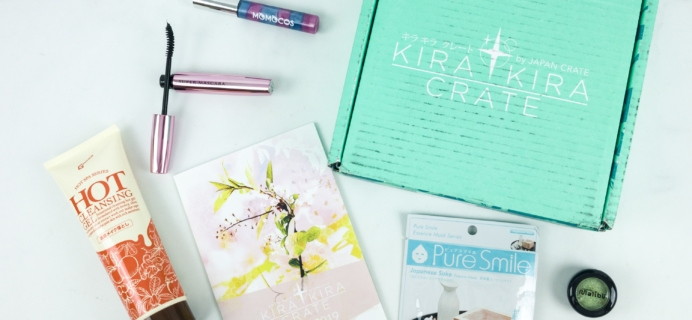 Kira Kira Crate April 2019 Subscription Box Review + Coupon