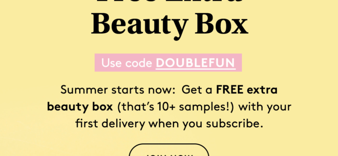 Birchbox Coupon: FREE Beauty Box!