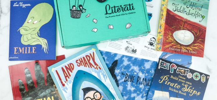 Literati Club Nova Box Review + Coupon – May 2019
