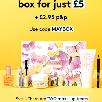 Birchbox UK Sale : Get Your First Box For Only £5!