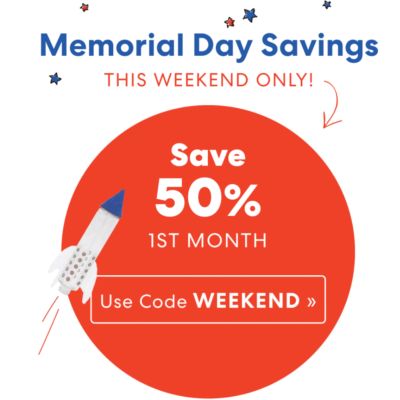 KiwiCo Memorial Day Sale: Get 50% Off First Box!