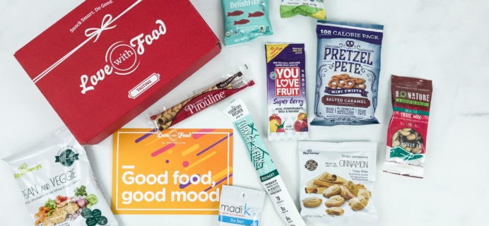 Love With Food May 2019 Tasting Box Review + Coupon!