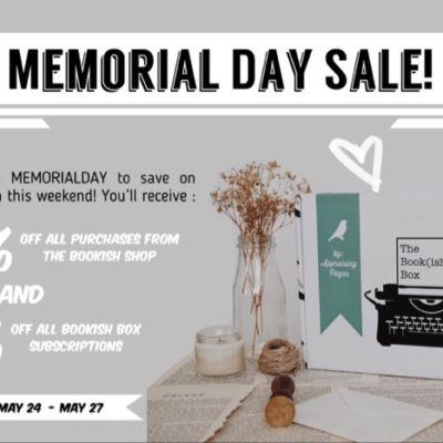 The Bookish Box Memorial Day Coupon: Get Up To 20% Off!
